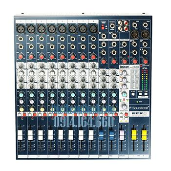 MIXER SOUNDCRAFT EFX 8